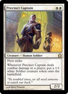 《管区の隊長/Precinct Captain》[RTR] 白R