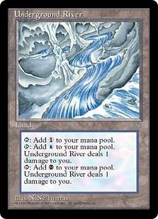地底の大河