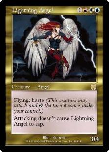 《稲妻の天使/Lightning Angel》[APC] 金R