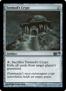 《トーモッドの墓所/Tormod's Crypt》[M13] 茶U