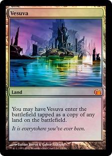 【Foil】《ヴェズーヴァ/Vesuva》[FtV:Realms] 土地