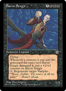 《Baron Sengir》[HML] 黒R