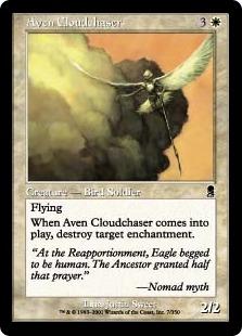 《雲を追うエイヴン/Aven Cloudchaser》[ODY] 白C