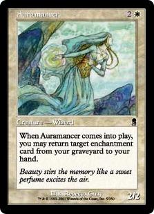 【Foil】《オーラ術師/Auramancer》[ODY] 白C