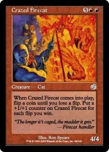 《狂った火猫/Crazed Firecat》[TOR] 赤U