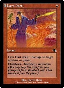 《溶岩の投げ矢/Lava Dart》[JUD] 赤C