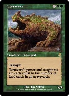 《土を食うもの/Terravore》[ODY] 緑R