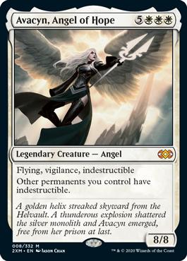 《希望の天使アヴァシン/Avacyn, Angel of Hope》[2XM] 白R