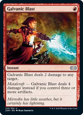 《感電破/Galvanic Blast》[2XM] 赤U
