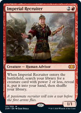 《帝国の徴募兵/Imperial Recruiter》[2XM] 赤R