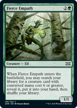 《激情の共感者/Fierce Empath》[2XM] 緑C