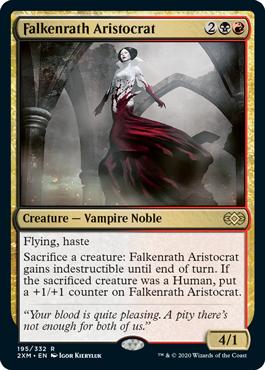 《ファルケンラスの貴種/Falkenrath Aristocrat》[2XM] 金R