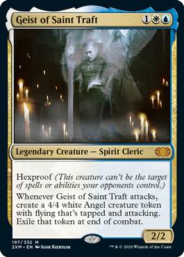 《聖トラフトの霊/Geist of Saint Traft》[2XM] 金R