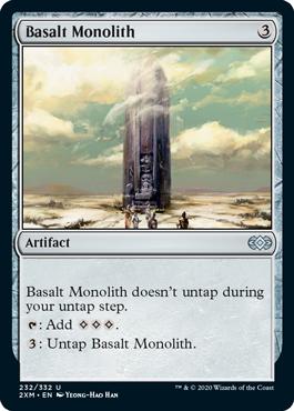 《玄武岩のモノリス/Basalt Monolith》[2XM] 茶U