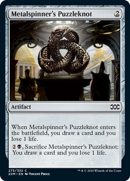 《金属紡績工の組細工/Metalspinner's Puzzleknot》[2XM] 茶C