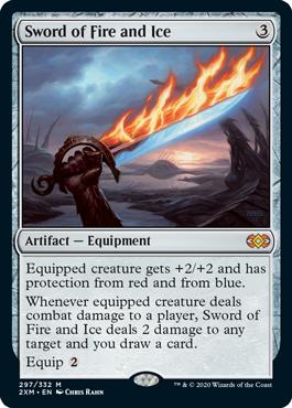 《火と氷の剣/Sword of Fire and Ice》[2XM] 茶R