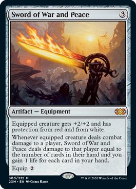 《戦争と平和の剣/Sword of War and Peace》[2XM] 茶R