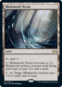 《ちらつき蛾の生息地/Blinkmoth Nexus》[2XM] 土地R