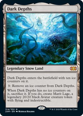 《暗黒の深部/Dark Depths》[2XM] 土地R