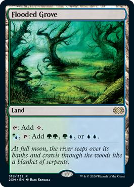 《溢れかえる果樹園/Flooded Grove》[2XM] 土地R