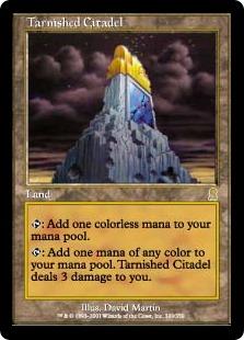 《色あせた城塞/Tarnished Citadel》[ODY] 土地R