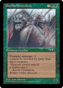 Gorilla Berserkers