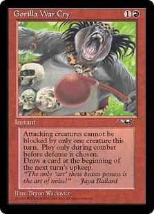 Gorilla War Cry