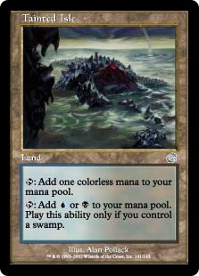 《汚れた島/Tainted Isle》[TOR] 土地U