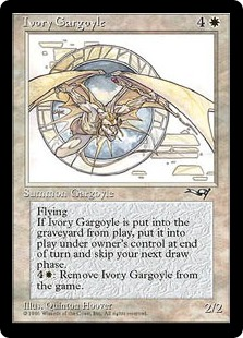 《Ivory Gargoyle》[ALL] 白R