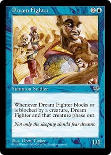 《夢幻の戦士/Dream Fighter》[MIR] 青C