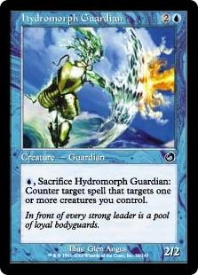 《ハイドロモルフの守護者/Hydromorph Guardian》[TOR] 青C