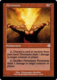 Foil】《放火狂/Pyromania》[TOR] 赤U | 晴れる屋