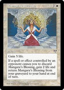 《マンガラの祝福/Mangara's Blessing》[MIR] 白U