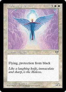 《メリース・スピリット/Melesse Spirit》[MIR] 白U