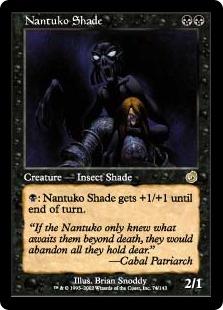 《ナントゥーコの影/Nantuko Shade》[TOR] 黒R
