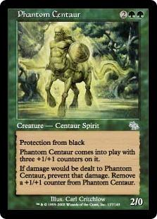 《幻影のケンタウロス/Phantom Centaur》[JUD] 緑U