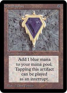 《Mox Sapphire》[LEA]  茶R