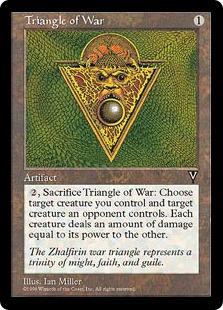 戦争の三角