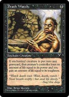 《死の見張り/Death Watch》[VIS] 黒C