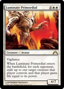 《発光の始源体/Luminate Primordial》[GTC] 白R