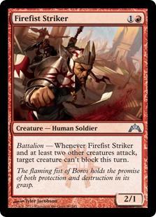 《火拳の打撃者/Firefist Striker》[GTC] 赤U
