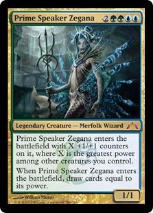 《首席議長ゼガーナ/Prime Speaker Zegana》[GTC] 金R