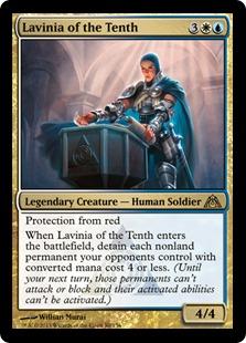 《第10管区のラヴィニア/Lavinia of the Tenth》[DGM] 金R