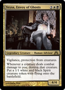 《幽霊の特使、テイサ/Teysa, Envoy of Ghosts》[DGM] 金R