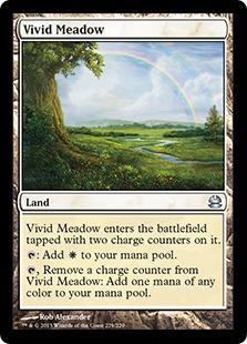 《鮮烈な草地/Vivid Meadow》[MMA] 土地U