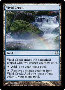 《鮮烈な小川/Vivid Creek》[MMA] 土地U