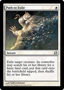 《流刑への道/Path to Exile》[MMA] 白U