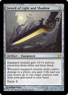 《光と影の剣/Sword of Light and Shadow》[MMA] 茶R
