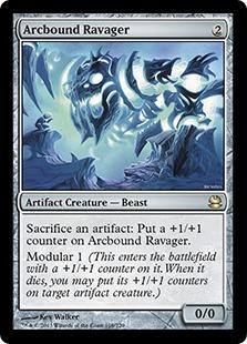 《電結の荒廃者/Arcbound Ravager》[MMA] 茶R