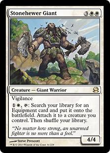 《石切りの巨人/Stonehewer Giant》[MMA] 白R